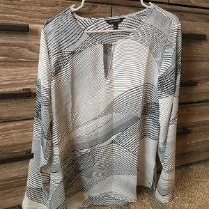 Banana Republic Long Sleeve Shear Shirt